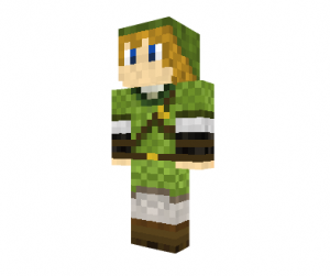 Legend of Zelda Minecraft Skin - Link
