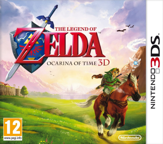 Ocarina of Time 3D box-art