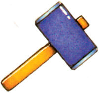 A Link to the Past Items - Magic Hammer - Wii Zelda