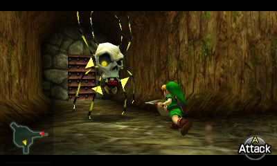how to kill redead in ocarina of time