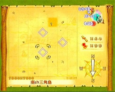 sea chart wind waker: The wind waker screenshots sea chart wii zelda