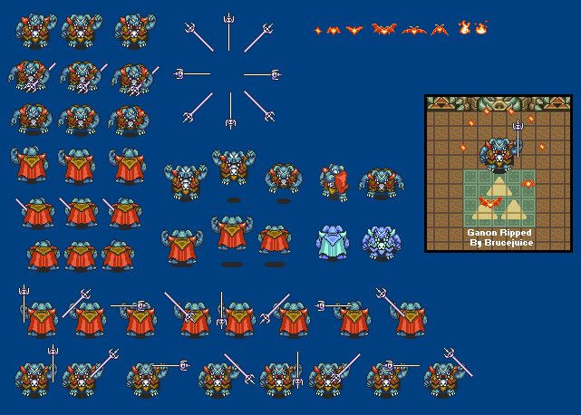 A Link to the Past Sprites - Ganon