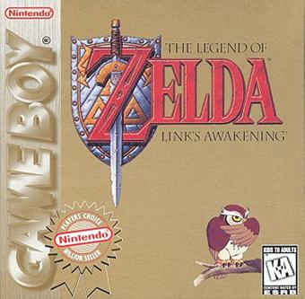The Legend Of Zelda Link S Awakening La Dx Box Art