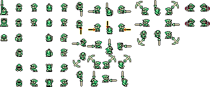 Oracle of Ages Sprites & Sprite Sheets - Link