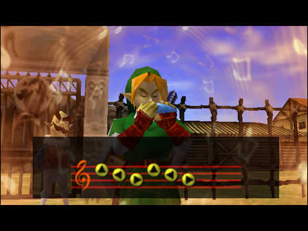 Ocarina of Time Epona