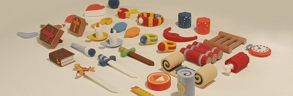 3D Models of The Legend of Zelda items
