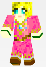Skyward Sword Zelda Minecraft Skin